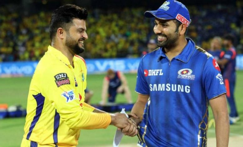 Rohit Sharma goes past Suresh Raina to become second most capped IPL player