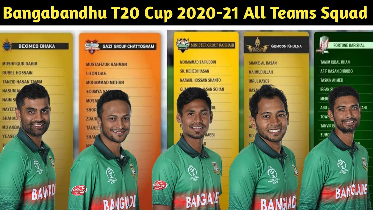 Bangabandhu T20 Cup: Full Schedule, Squad – all you need to know