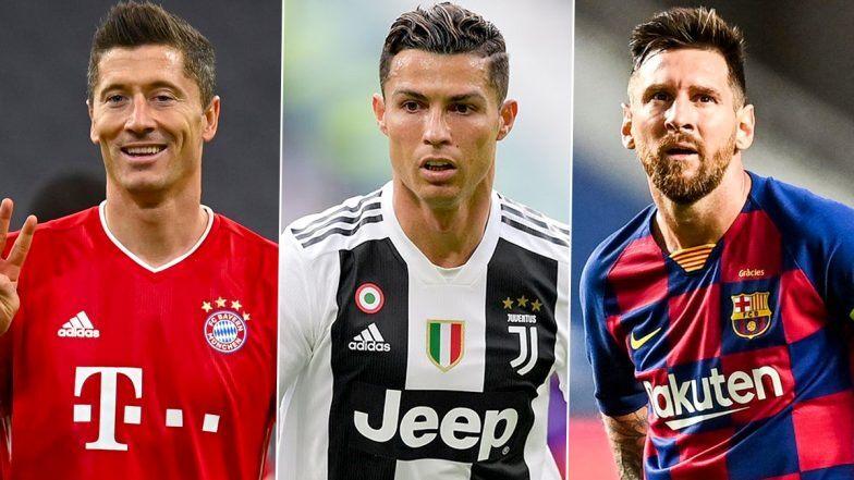 Best FIFA Men's Player of the Year: Finalists Cristiano Ronaldo, Lionel Messi and Robert Lewandowski