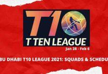 Photo of T10 Cricket League 2021 – Dubai all Squads